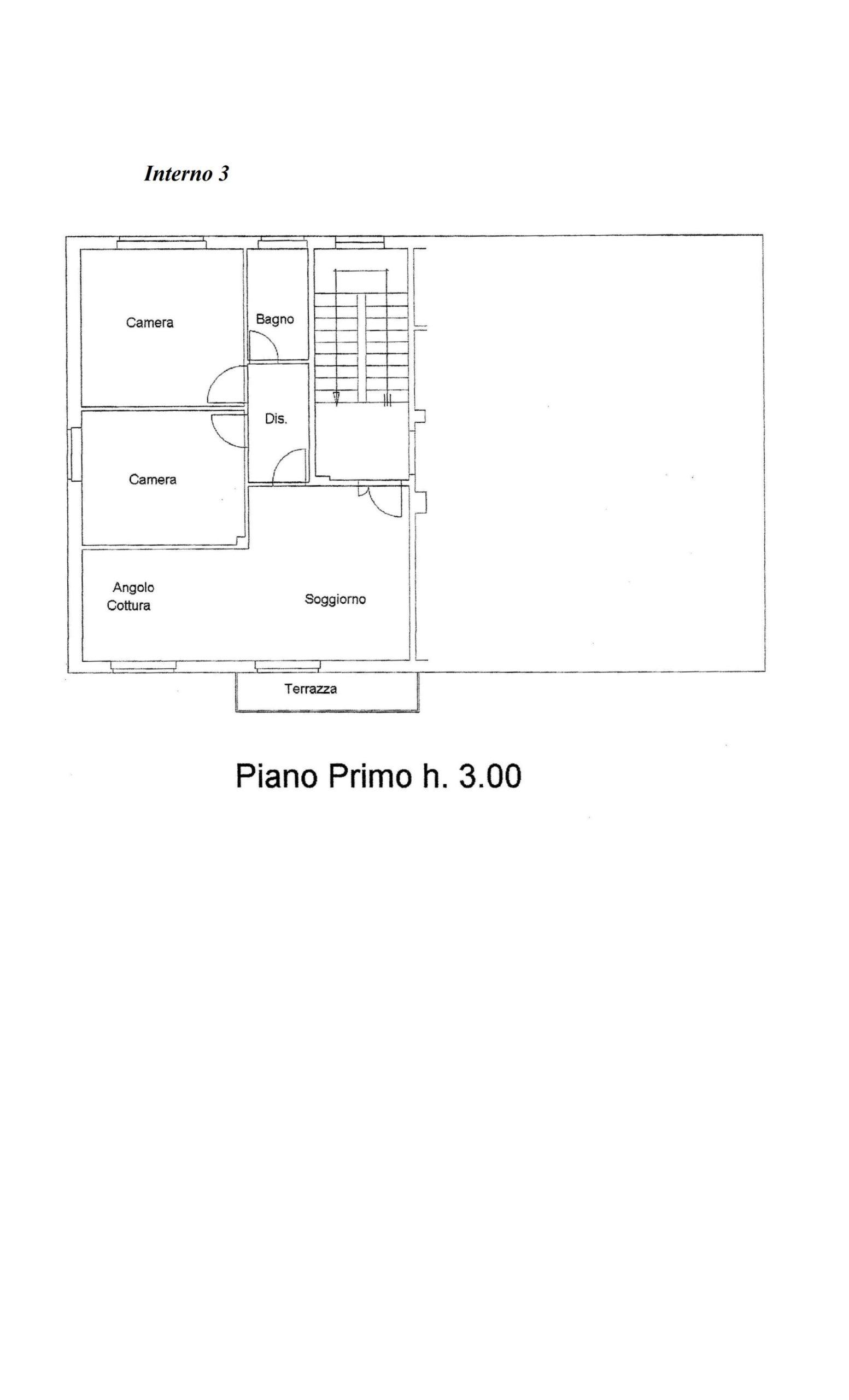 Piano Primo lato sinistro id 330999