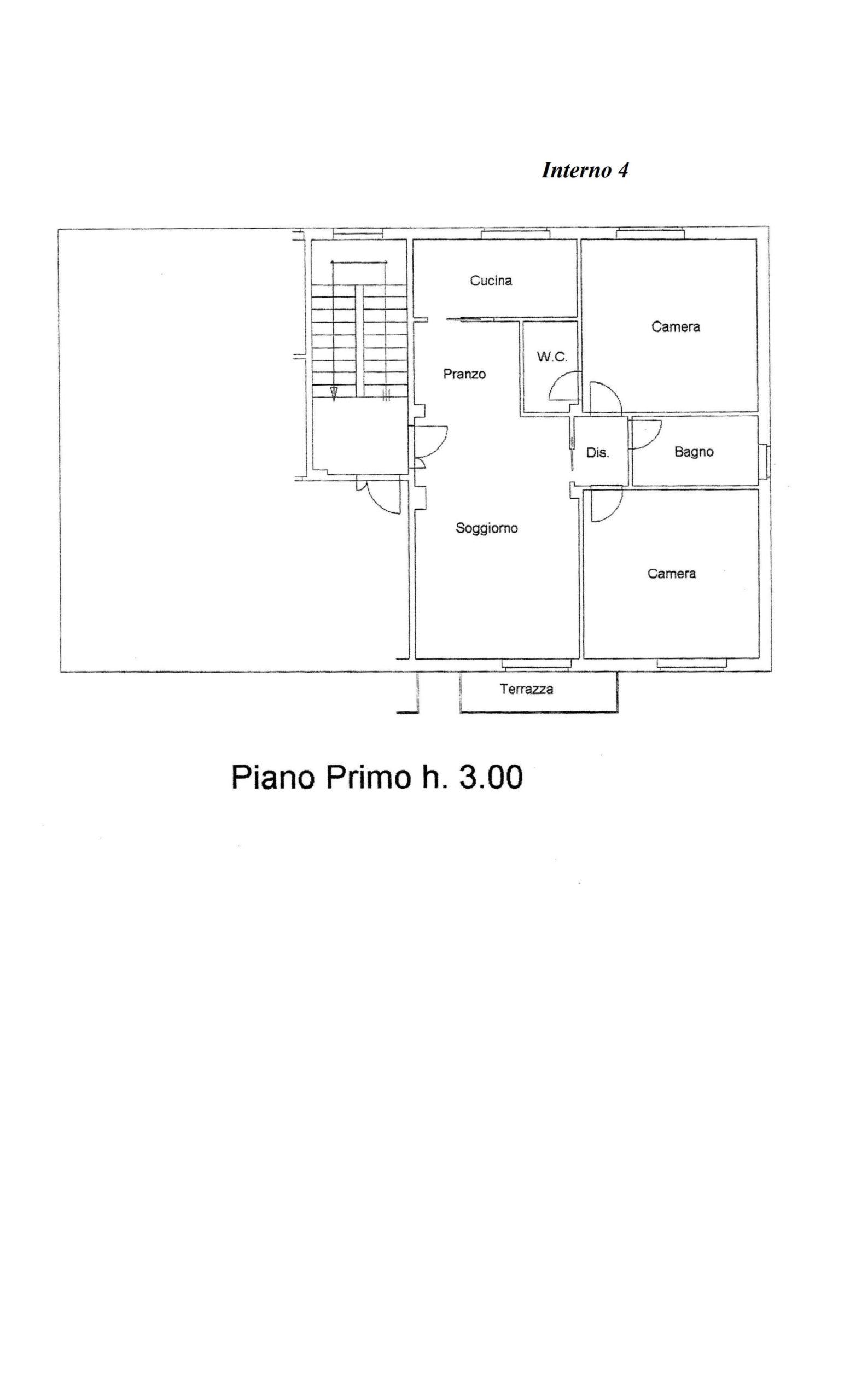 Piano Primo lato destro 331000