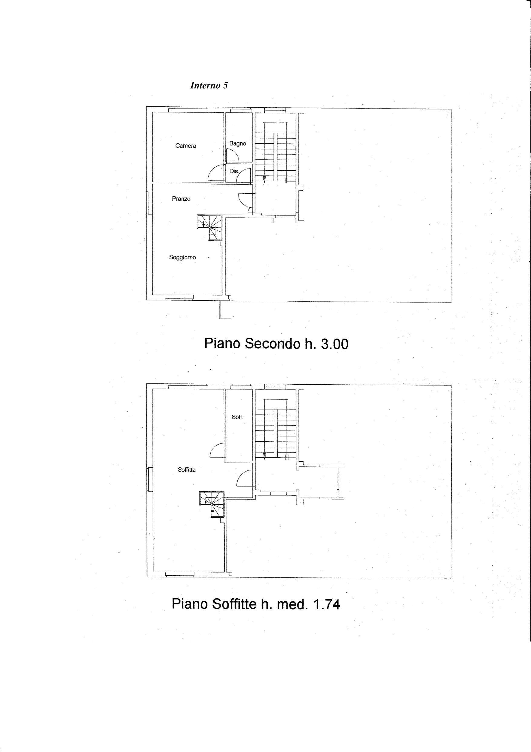 Piano Secondo lato sinistro id 331001