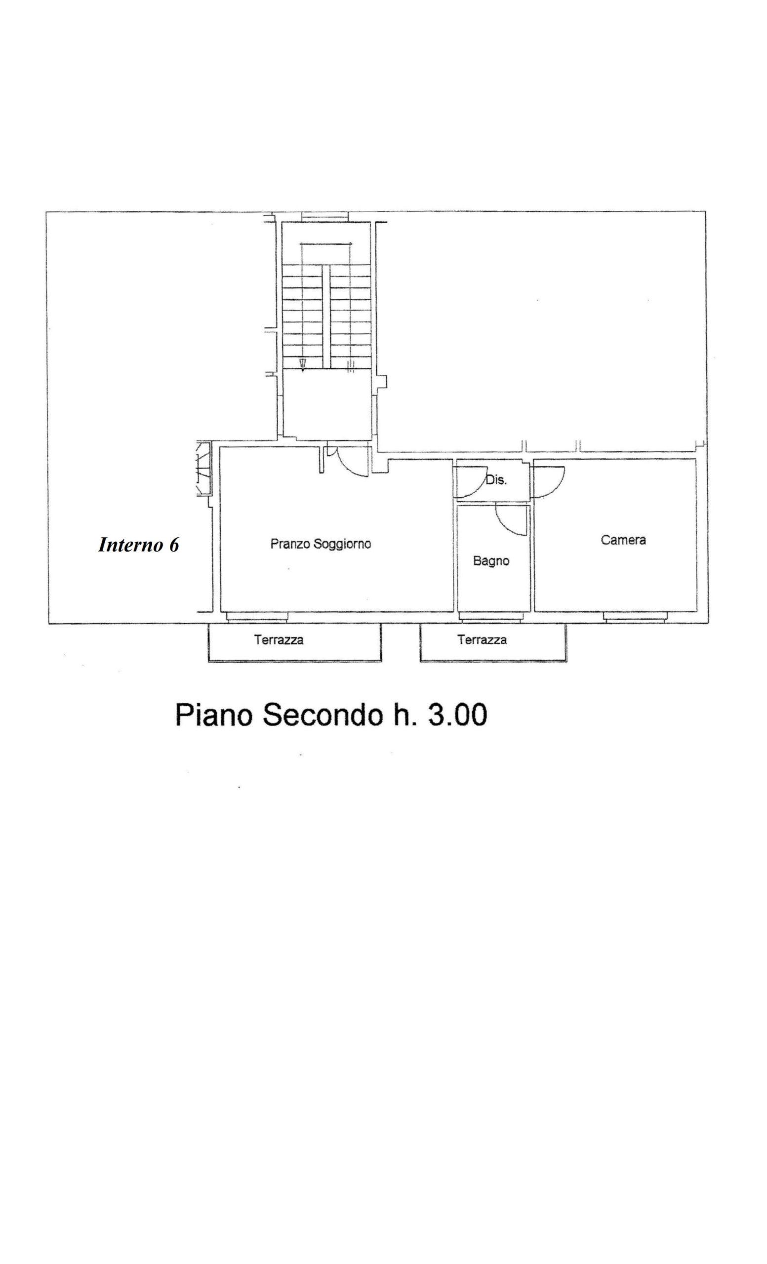 Piano Secondo centrale 331002
