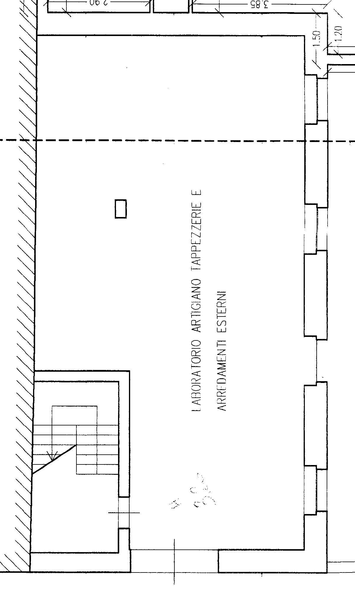 Planimetria Laboratorio Artigianale